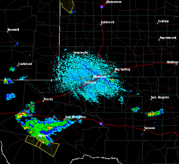 Radar Image for Severe Thunderstorms near Marathon, TX at 6/17/2019 5:31 PM CDT