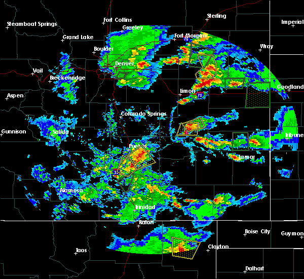 Radar Image for Severe Thunderstorms near Colorado City, CO at 6/17/2019 5:04 PM MDT