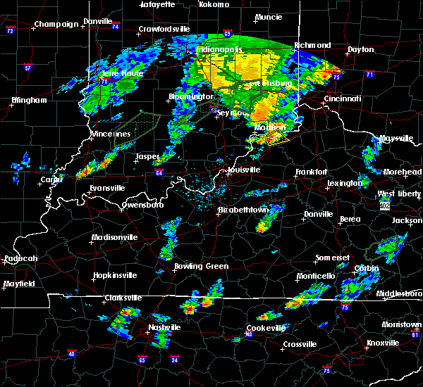 Radar Image for Severe Thunderstorms near Ghent, KY at 6/17/2019 7:03 PM EDT