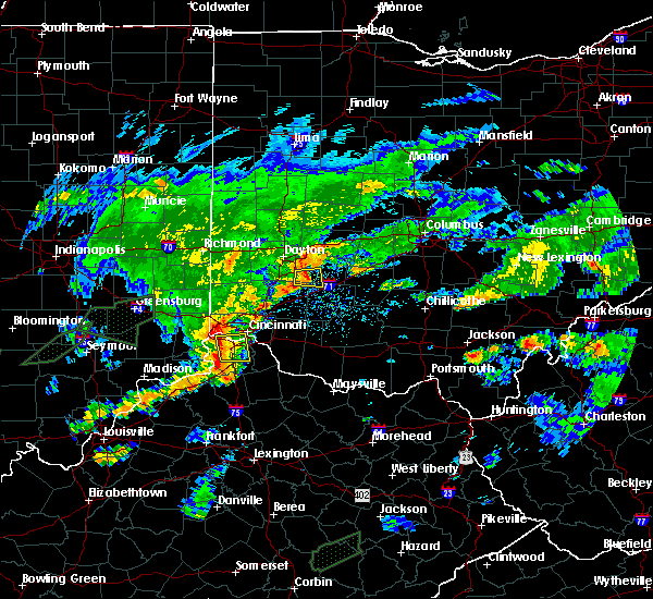 Radar Image for Severe Thunderstorms near Cincinnati, OH at 6/17/2019 7:48 PM EDT
