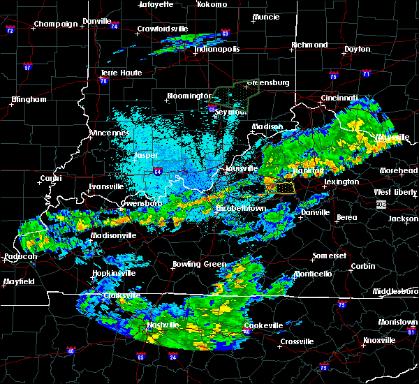 Radar Image for Severe Thunderstorms near Lawrenceburg, KY at 6/17/2019 10:32 PM EDT