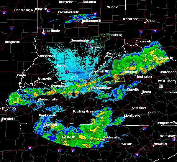Radar Image for Severe Thunderstorms near Lawrenceburg, KY at 6/17/2019 10:40 PM EDT