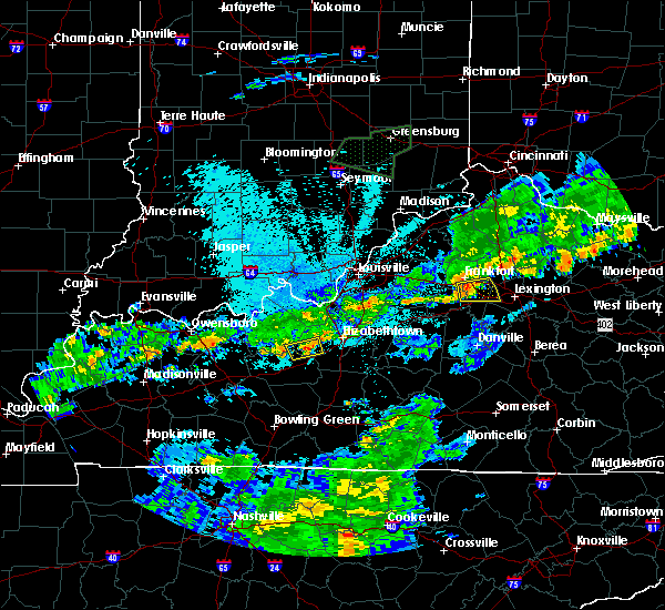 Radar Image for Severe Thunderstorms near Midway, KY at 6/17/2019 10:59 PM EDT