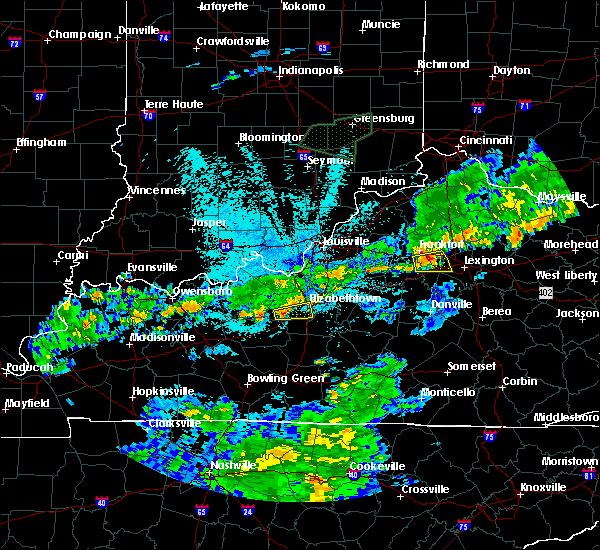 Radar Image for Severe Thunderstorms near Midway, KY at 6/17/2019 11:05 PM EDT