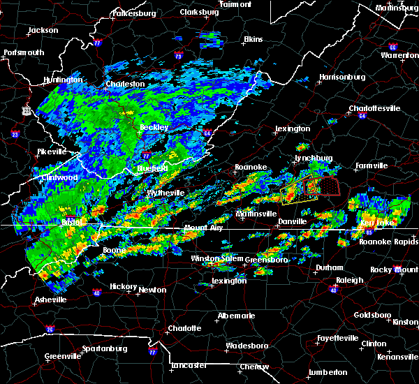 Radar Image for Severe Thunderstorms near Brookneal, VA at 6/18/2019 3:33 PM EDT