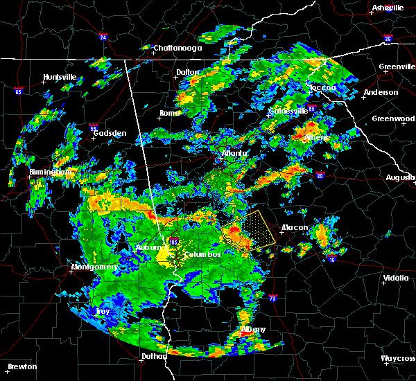 Radar Image for Severe Thunderstorms near Salem, GA at 6/18/2019 5:13 PM EDT
