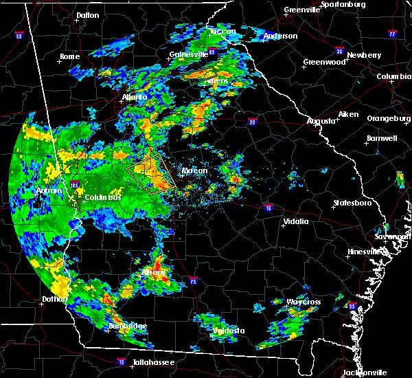 Radar Image for Severe Thunderstorms near Salem, GA at 6/18/2019 5:37 PM EDT