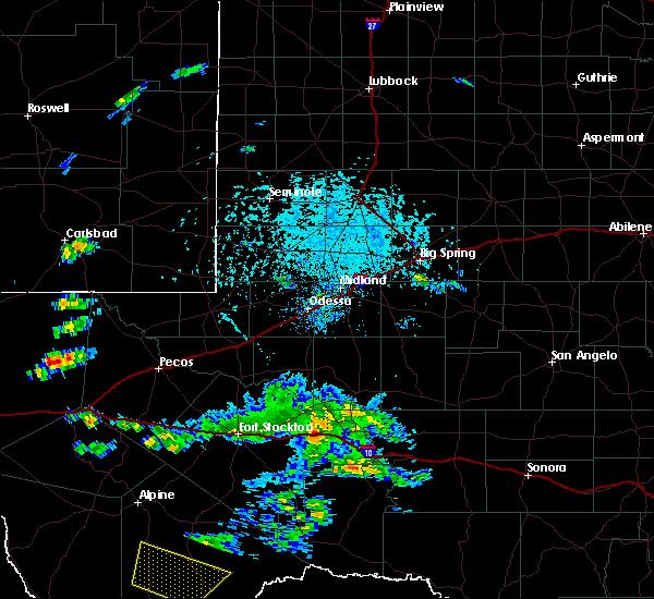 Radar Image for Severe Thunderstorms near Marathon, TX at 6/18/2019 5:38 PM CDT