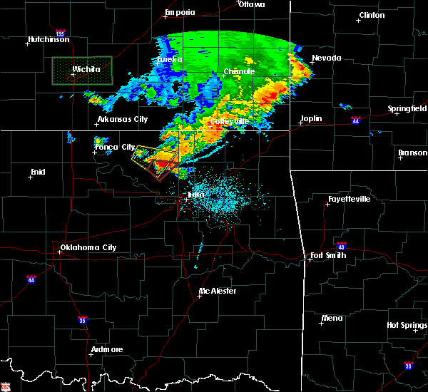 Radar Image for Severe Thunderstorms near Barnsdall, OK at 6/18/2019 8:59 PM CDT