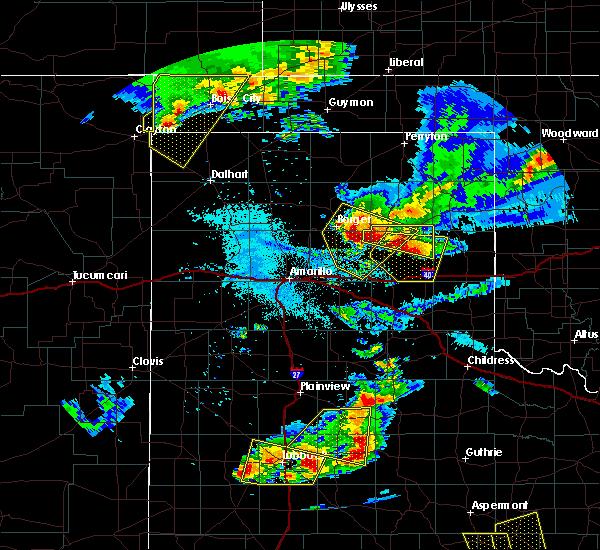 Radar Image for Severe Thunderstorms near Lefors, TX at 6/18/2019 8:59 PM CDT