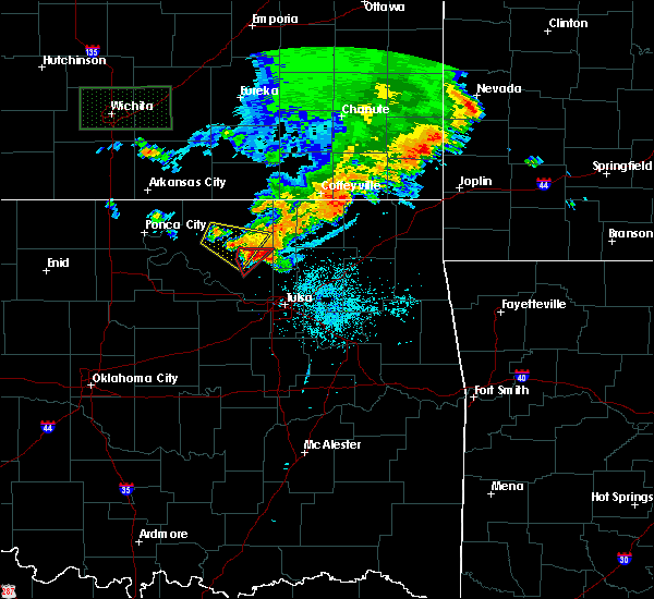 Radar Image for Severe Thunderstorms near Skiatook, OK at 6/18/2019 9:04 PM CDT