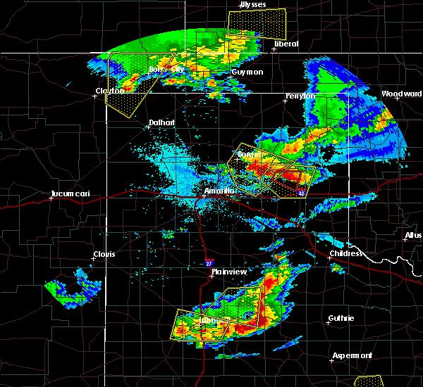 Radar Image for Severe Thunderstorms near Boise City, OK at 6/18/2019 9:14 PM CDT