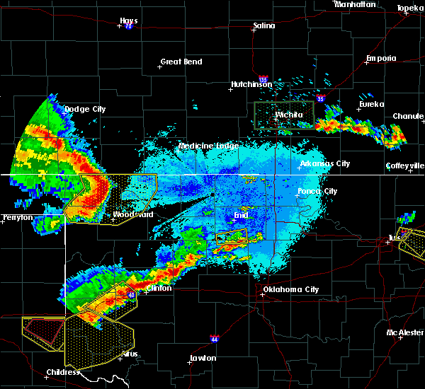 Radar Image for Severe Thunderstorms near May, OK at 6/18/2019 11:15 PM CDT