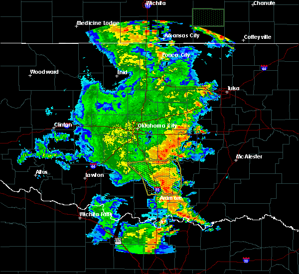 Radar Image for Severe Thunderstorms near Allen, OK at 6/19/2019 2:14 AM CDT