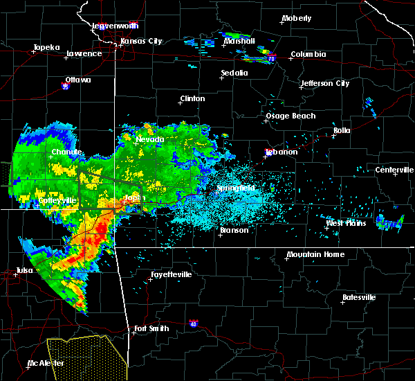 Radar Image for Severe Thunderstorms near La Russell, MO at 6/19/2019 4:20 AM CDT