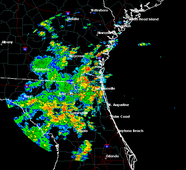 Radar Image for Severe Thunderstorms near Nassau Village-Ratliff, FL at 6/19/2019 12:57 PM EDT