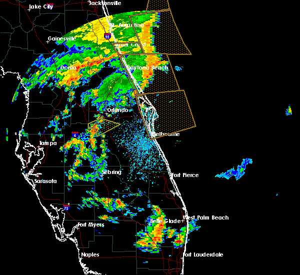 Radar Image for Severe Thunderstorms near Buenaventura Lakes, FL at 6/19/2019 3:16 PM EDT