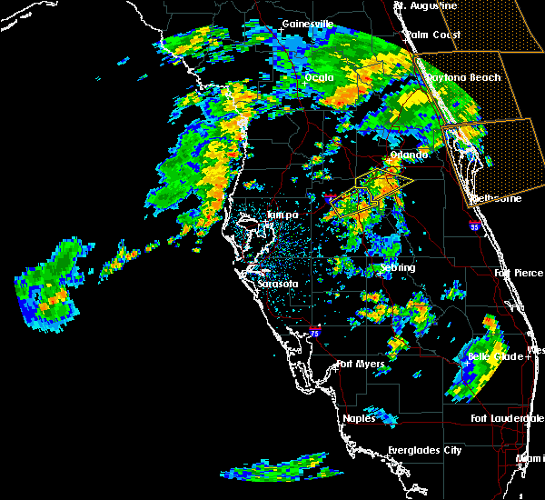Radar Image for Severe Thunderstorms near Four Corners, FL at 6/19/2019 3:42 PM EDT