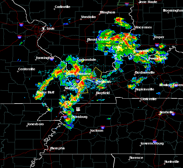 Radar Image for Severe Thunderstorms near Eddyville, IL at 6/19/2019 3:01 PM CDT