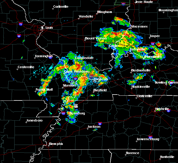 Radar Image for Severe Thunderstorms near Eddyville, IL at 6/19/2019 3:14 PM CDT