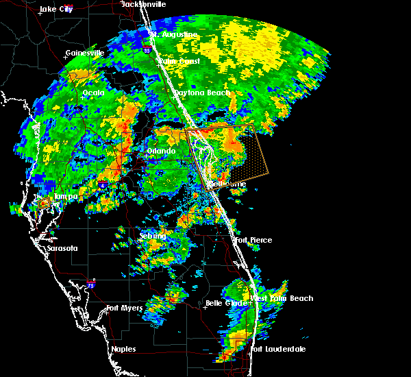 Radar Image for Severe Thunderstorms near Bay Hill, FL at 6/19/2019 5:17 PM EDT