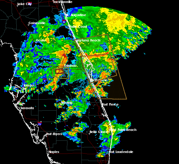 Radar Image for Severe Thunderstorms near Bay Hill, FL at 6/19/2019 5:40 PM EDT