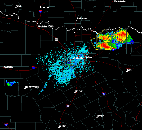 Radar Image for Severe Thunderstorms near Farmersville, TX at 6/19/2019 5:30 PM CDT