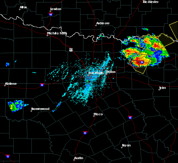 Radar Image for Severe Thunderstorms near Cumby, TX at 6/19/2019 6:12 PM CDT