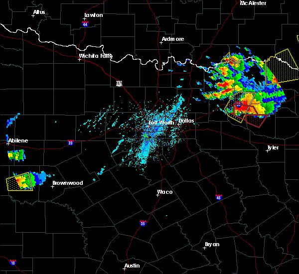 Radar Image for Severe Thunderstorms near Sulphur Springs, TX at 6/19/2019 6:36 PM CDT