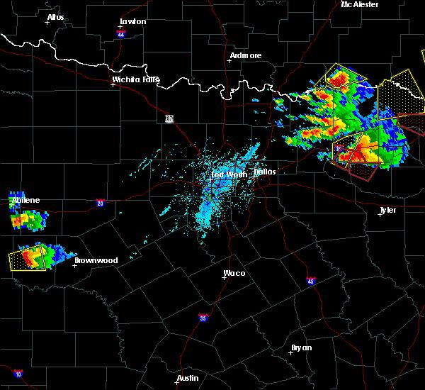 Radar Image for Severe Thunderstorms near Sulphur Springs, TX at 6/19/2019 6:46 PM CDT