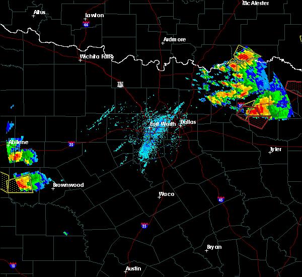 Radar Image for Severe Thunderstorms near Sulphur Springs, TX at 6/19/2019 6:57 PM CDT