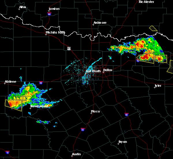 Radar Image for Severe Thunderstorms near Sulphur Springs, TX at 6/19/2019 8:09 PM CDT