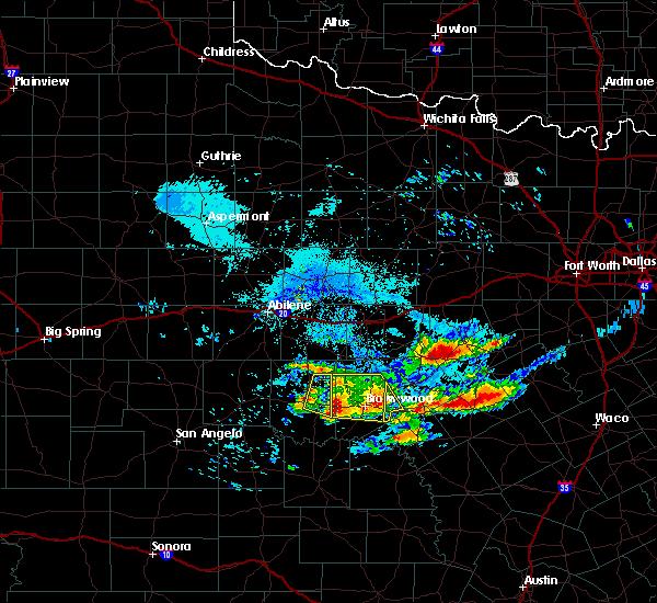 Radar Image for Severe Thunderstorms near Blanket, TX at 6/19/2019 8:44 PM CDT