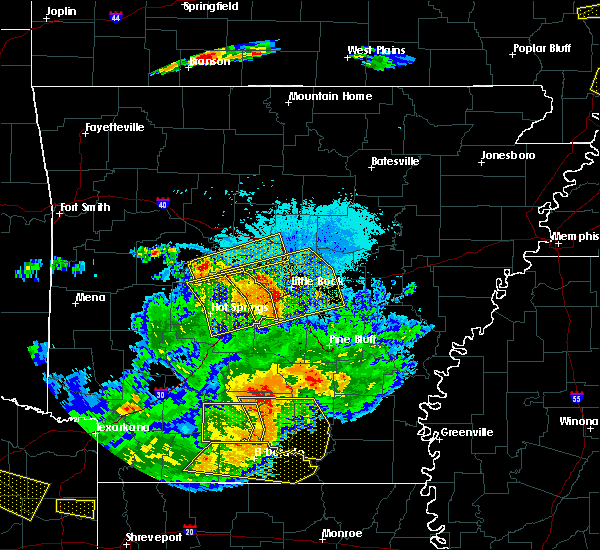 Radar Image for Severe Thunderstorms near Perryville, AR at 6/19/2019 9:10 PM CDT
