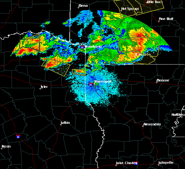 Radar Image for Severe Thunderstorms near Strong, AR at 6/19/2019 9:09 PM CDT
