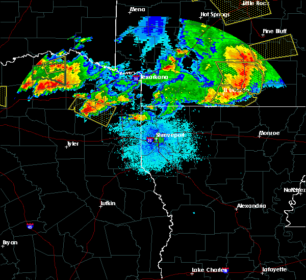 Radar Image for Severe Thunderstorms near Strong, AR at 6/19/2019 9:21 PM CDT