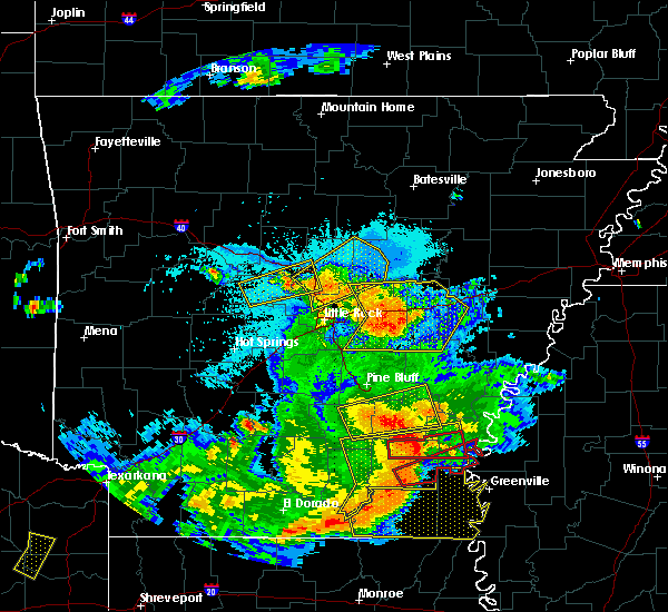 Radar Image for Severe Thunderstorms near Coy, AR at 6/19/2019 9:56 PM CDT
