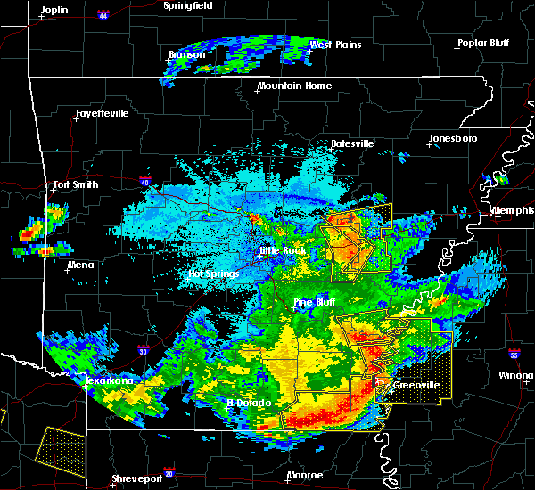 Radar Image for Severe Thunderstorms near Boyle, MS at 6/19/2019 10:23 PM CDT