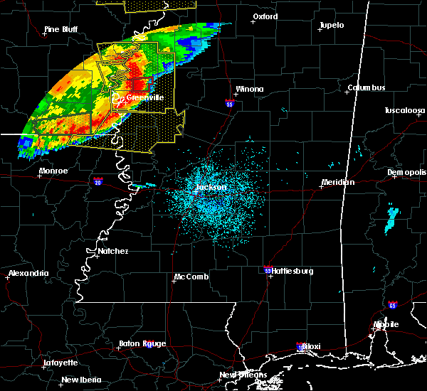Radar Image for Severe Thunderstorms near Boyle, MS at 6/19/2019 10:37 PM CDT