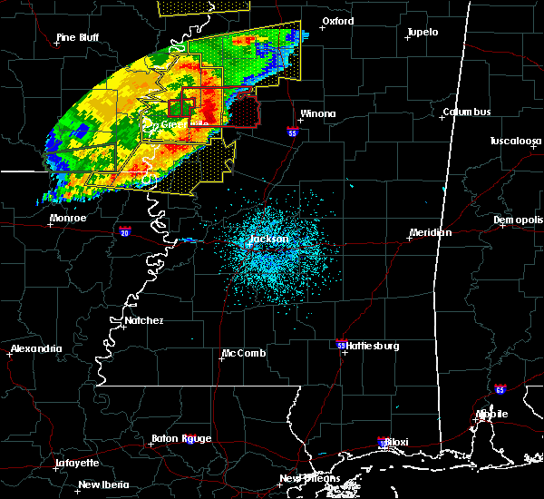 Radar Image for Severe Thunderstorms near Drew, MS at 6/19/2019 11:03 PM CDT