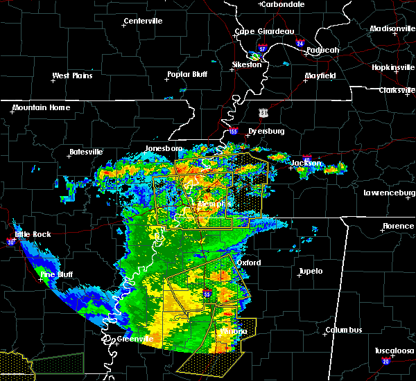 Radar Image for Severe Thunderstorms near Marie, AR at 6/20/2019 12:01 AM CDT