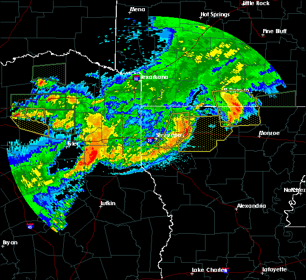 Radar Image for Severe Thunderstorms near Strong, AR at 6/20/2019 12:30 AM CDT