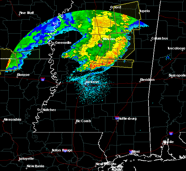 Radar Image for Severe Thunderstorms near Pearl River, MS at 6/20/2019 12:33 AM CDT