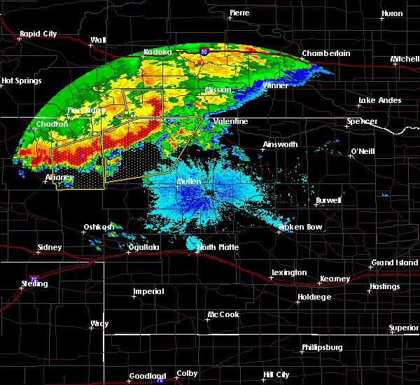 Radar Image for Severe Thunderstorms near Crookston, NE at 6/18/2015 1:39 AM MDT