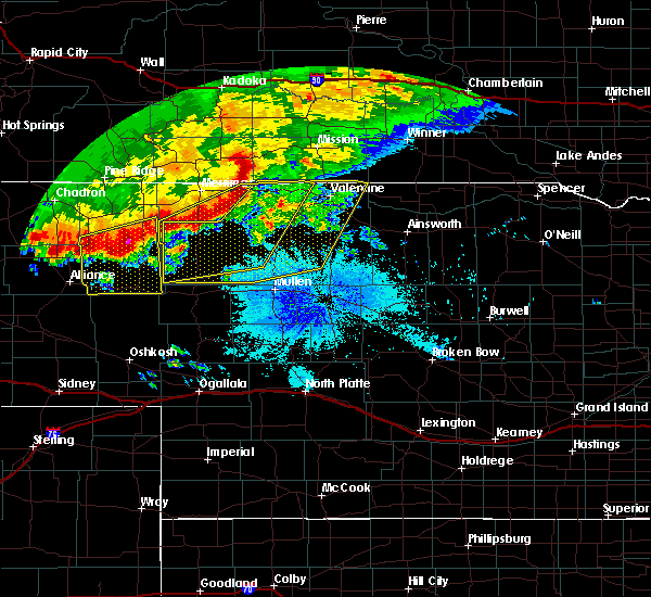 Radar Image for Severe Thunderstorms near Crookston, NE at 6/18/2015 1:46 AM MDT