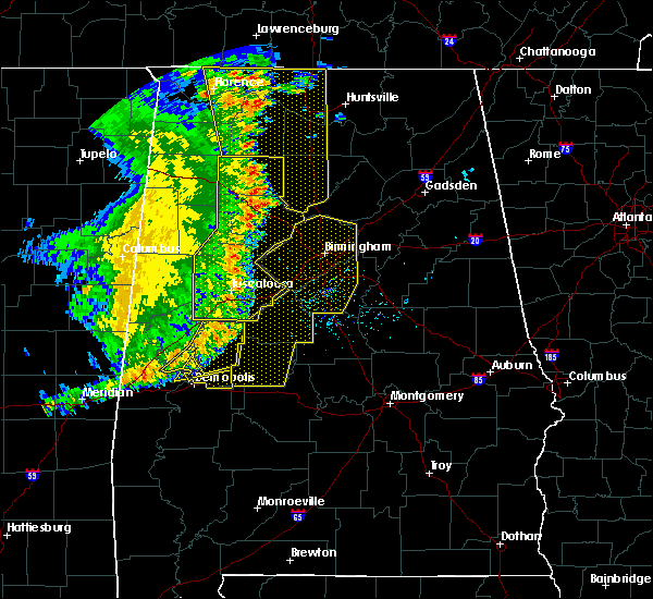 Radar Image for Severe Thunderstorms near Center Point, AL at 6/20/2019 2:32 AM CDT