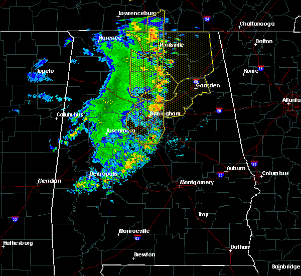 Radar Image for Severe Thunderstorms near Pell City, AL at 6/20/2019 3:28 AM CDT