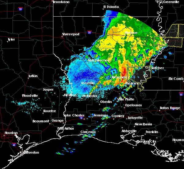 Radar Image for Severe Thunderstorms near Jonesville, LA at 6/20/2019 3:40 AM CDT