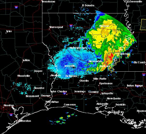 Radar Image for Severe Thunderstorms near Monterey, LA at 6/20/2019 4:02 AM CDT