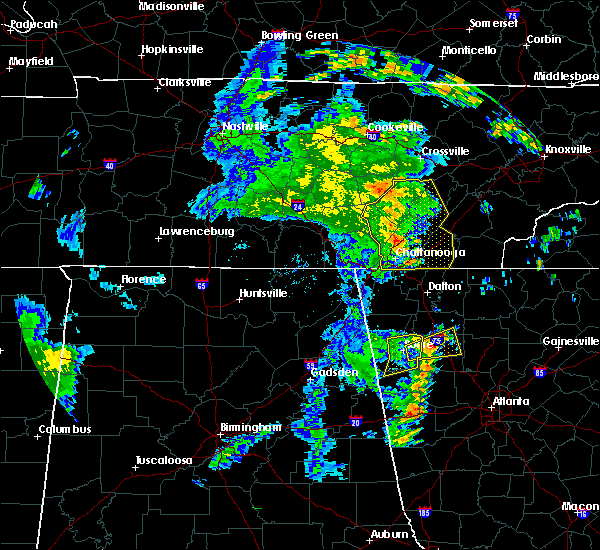 Radar Image for Severe Thunderstorms near Harrison, TN at 6/20/2019 6:16 AM EDT
